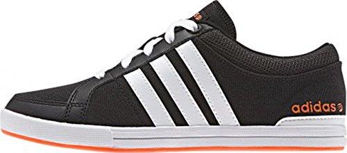 adidas - Skool K - F76444 - Colore: Nero-Arancione-Bianco - Taglia: 31.0