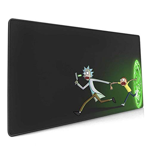 Anime Mouse Pad, Desk Mat Pad with No-Slip Rubber Base and Stitched Edges,Waterproof - 3Mm Thick - Smooth Gaming Surface Mousepad for Computer & Laptop 11.8x23.6x0.12 Inch