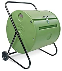 Compost tumbler.