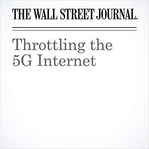 Throttling the 5G Internet copertina