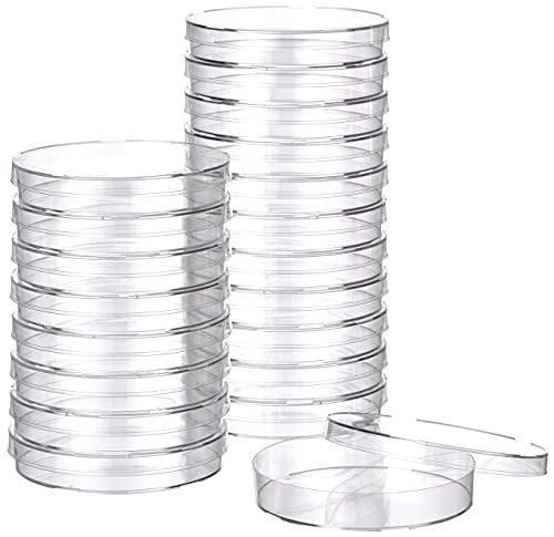 Plaque Petri Plastique 90Mm Triple Vent (Pack 20)