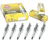 6 pcs NGK G-Power Spark Plugs for 2000-2012 Mitsubishi Eclipse 3.0L 3.8L 3.0L 3.8L V6 - Engine Kit Set Tune Up