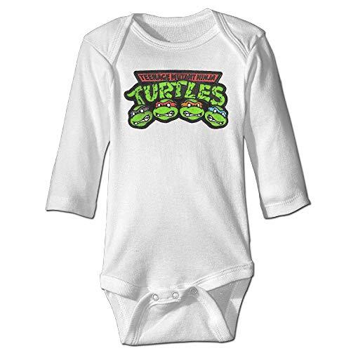Novel Ninja Turtles Big Face Baby One Piece Newborn Apparel 6M