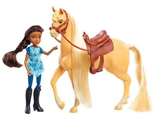 JP Spirit JPL39240 Spirit Kleine Puppe & Classic Horse-Prudence & Chica Linda, Nylon/A