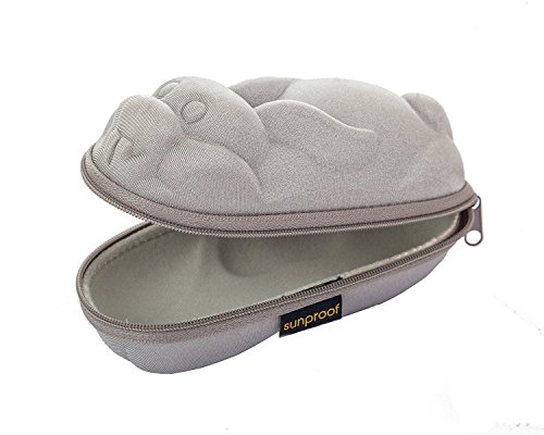 Yoccoes Baby Banz Sunglass Case - Silver Rabbit