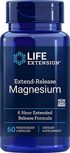 Magnesio | Life Extension | Suplemento de Magnesio de Liberación Prolongada | 60 Cápsulas