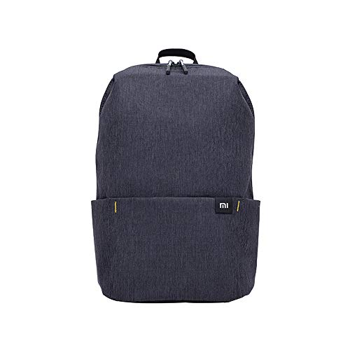 Waterproof Travel Backpack Lightweight Business Daypack Canvas Rucksack Mini Small Bookbag 10L for Man Women College Student Outdoor Trip Sports Hiking Black