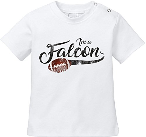 EZYshirt® I`m a Falcon   American Football Bio Baumwolle Baby T-Shirt