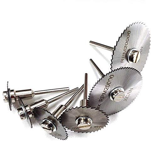KEKEYANG Herramientas Acero de alta velocidad de corte fino de metal Carpentr plástico cortador de pequeñas amoladoras hoja de sierra herramienta de corte 22mm25mm32mm44mm50mm60mm Hoja de sierra