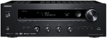 Onkyo TX-8140 Stereo Receiver with Built-In Wi-Fi and Bluetooth Wireless Technology 2-Channel Network