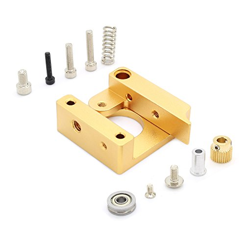 Anycubic All Metal Right Hand MK8 Extruder Aluminum Frame Block DIY Kit for Reprap i3 3D Printer