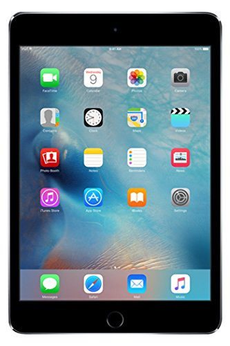 Apple iPad Mini 4 128GB 4G - Space Grey - Unlocked (Renewed)