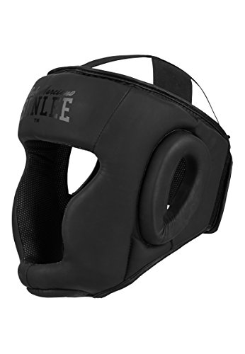 BENLEE Rocky Marciano Unisex-Adult Black Label Caesar Artificial Leather Head Guard, Large