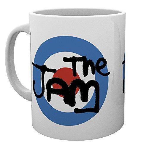 GB Eye Ltd, The Jam, Target, Tasse, Keramik, Verschiedene, 15x 10x 9cm