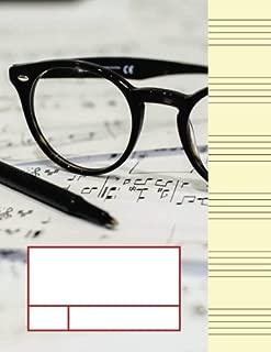 Best blank sheet music large print Reviews