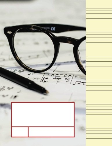 Music Manuscript Wide Staff for Seniors: Volume 1 (Senior Chord Notation Lesson Memo)