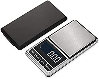 Digital Precision Gram Scale, 0.001oz/0.01g 500g Mini Pocket Scale, Portable Electronic Weight Jewelry Scales, Tare, Auto ...