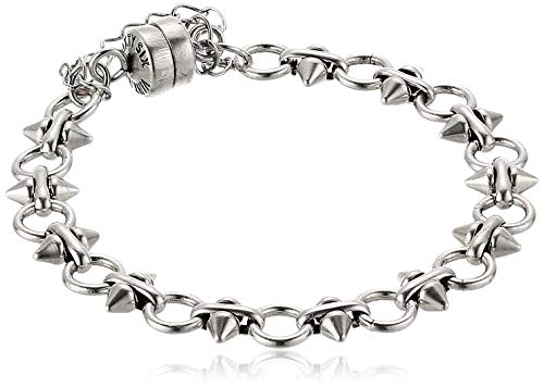 Spear and Circle Chain Magnetic Bracelet, RS, V20EBSP05RS