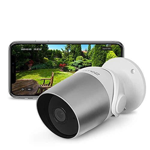 Time2 Wireless Outdoor Security Camera, 1080p WiFi CCTV IP Cameras, Smart Home Alexa Camera, Motion & Sound Sensor, Night Vision, Remote Access, Two Way Talk