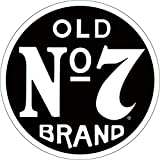 Metal sign, old no. 7 Brand