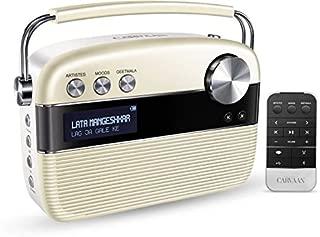 Saregama Carvaan 6 W Bluetooth Home Audio Speaker, SC04 (Porcelain White, Stereo Channel)