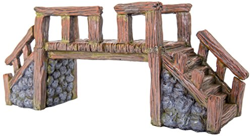 Biobubble Origins Série Wood Bridge Ornement, Grande