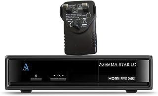 ZGEMMA -Star LC Linux HD DVB-C FTA digitale kabelontvanger met UK 3-pins voedingsadapter