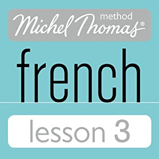 Michel Thomas Beginner French Lesson 3 cover art