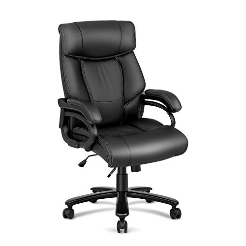 Kealive Big and Tall 400lbs High Back Executive Office Chair, Heavy Duty Wide Seat Ergonomic...
