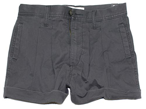 Abercrombie & Fitch Women's High Rise Mini Shorts AF-07 (0, 0266-015)