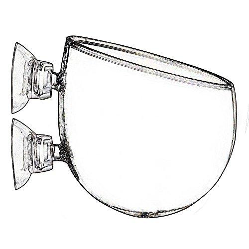 JARDLI Plant Glass Pot for Aquarium Tank Aquascape