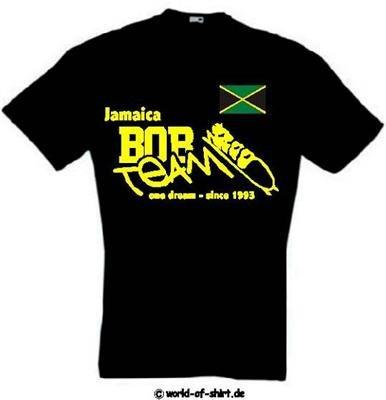world-of-shirt Herren T-Shirt Jamaica BOB Team Jamaika