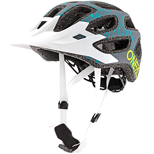 O'NEAL Thunderball 2.0 Fusion All Mountain MTB Fahrrad Helm grau/weiß 2019 Oneal: Größe: XXS/M (52-57cm)