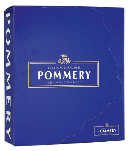 Pommery - Champagner und 2 Gläser - 0,75l