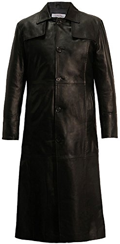 Leatherbox -  Cappotto - Uomo Nero Large