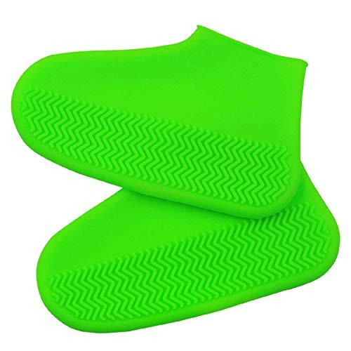hengguang VenVont Funda Impermeable De Silicona para Zapatos Protectores De Zapatos De Silicona Antideslizantes Reutilizables Cubrezapatos Plegables para Lluvia Y Nieve para Niños Mujere Hombre L/F