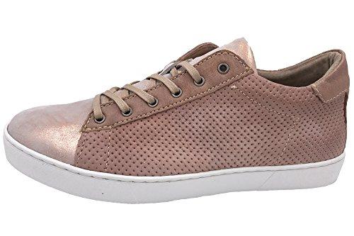 Mjus Damen Sneaker Schuhe Rosa Metallic 265123-1008-6328, EU 39