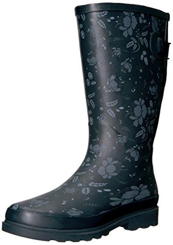 Western Chief Women Wide Calf Rain Boot,Feminine Floral, 9 W US