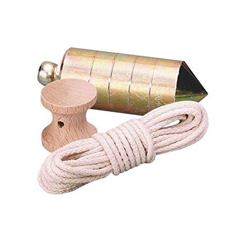 Nusac 17206H - Plomada 600 gr. nuez metalica y cordel **