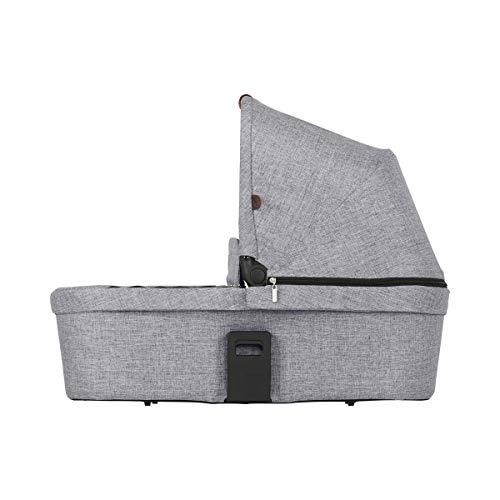 ABC Design Babywanne Zoom - faltbare Tragewanne - für Babys & Neugeborene - kompatibel mit Geschwisterkinderwagen Zoom - Farbe: graphite grey