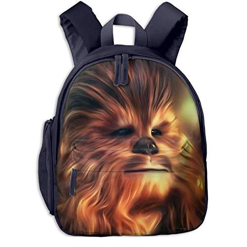JKSA Chewbacca Backpack Fashion School Bags Cute Backpack for Boys Girls,Navy,One Size