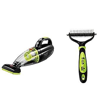 Pet Hair Eraser Hand Vac+Fur-Get-it-Brush