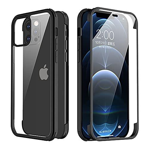 Valenta Protector de pantalla de cristal templado para iPhone 12 – 12...