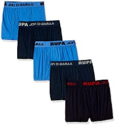 Rupa Jon Boys Cotton Brief (Pack of 5) (Colors May Vary)