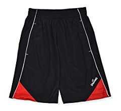 Spalding Boys Performance Athletic Basketball Gym Shorts with Pockets