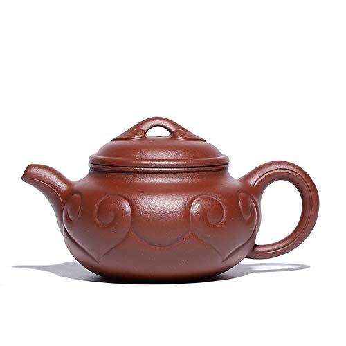 STZSHION Chinees Porselein theepotten Tea Pot Ceramic 320ml High Quality TeapotTeapot Zisha Clay (Size : 320ml)