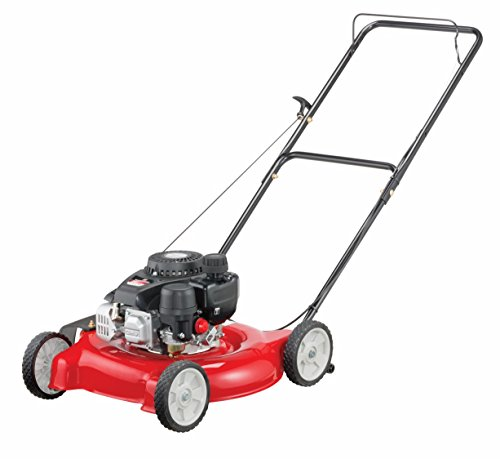 Yard Machines 132cc 20-Inch Push Gas Lawn Mower - Mower for Small to...