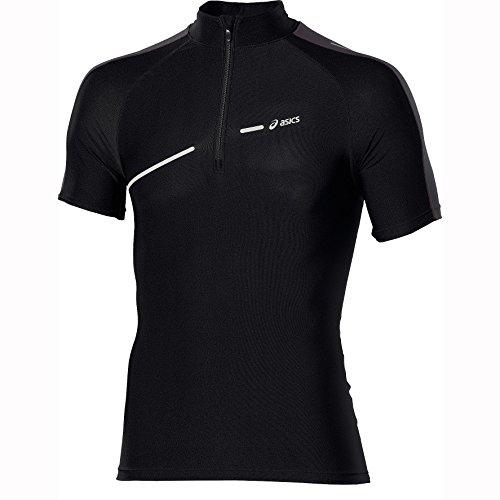 Asics Loopshirt Men's L1 IM 1/2 Zip SS Top performance black (maat: S)