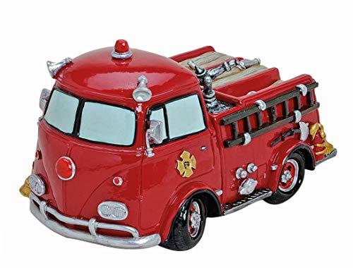 Spardose,Sparbüchse Feuerwehrwagen,Feuerwehrauto,Feuerwehr Nostalgie