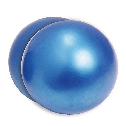 Movi Fitness Pilates-Ball, Unisex, Erwachsene, Unisex, MF505, blau, 13 cm